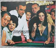 Diamonds are Forever, Press Photo, James Bond at the Casino! '71 (JB13)